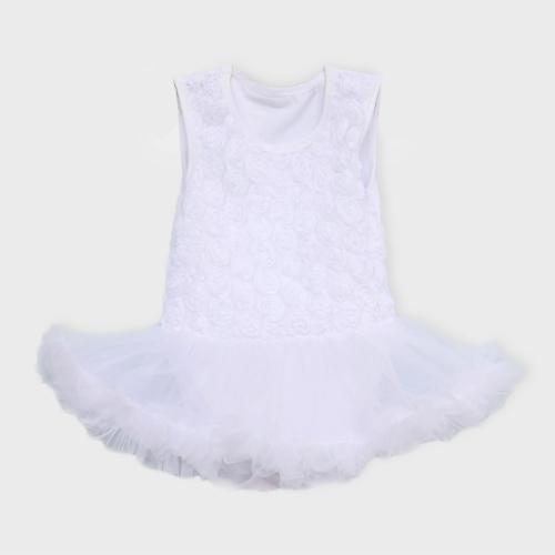 wit baby jurkje