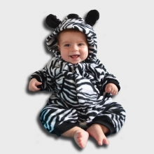 Zebra baby outfit