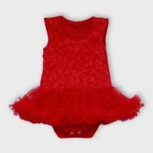 Baby Girl rood jurkje