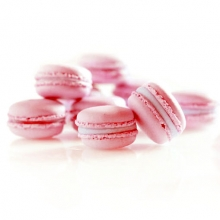 Framboos Macarons